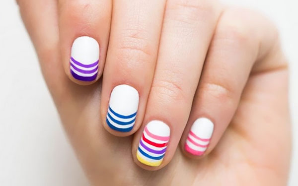 Manicure in five minutes: three simple nail designs