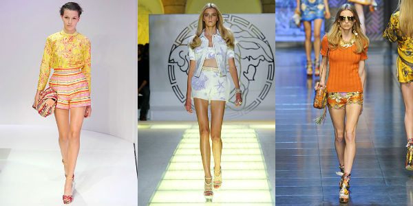 Fashion shorts spring-summer 2013 (photo)